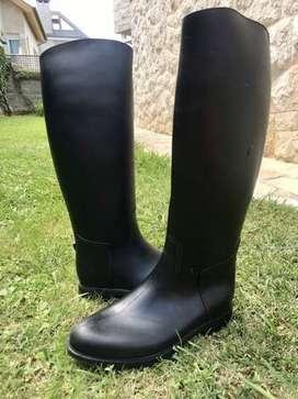 botas para equitacion de caucho pvc