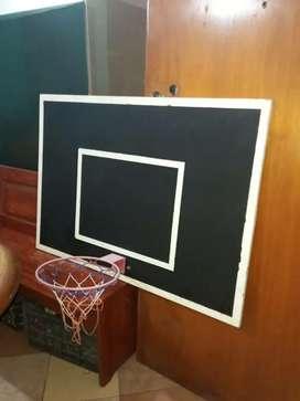 Tablero + aro de basket profesional