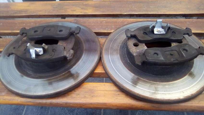 discos para fiat 257mm macizos, para uno novo, palio novo, siena, gand siena, etc 0