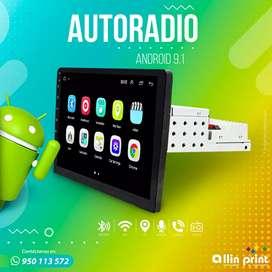 """Autoradio 10""""9""""y7"""" android 9.1 1din y 2 din. Netflix Movistar play"""