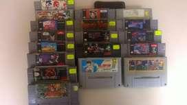 Vendo Juegos de Super Nintendo