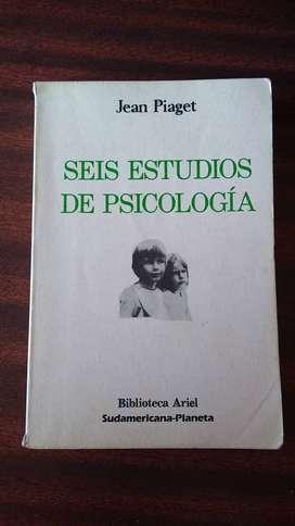 Seis estudios de Psicología . Jean Piaget