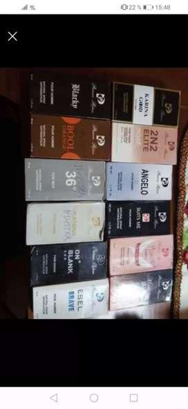 Lote de perfumes DAMAS Y CABALLEROS