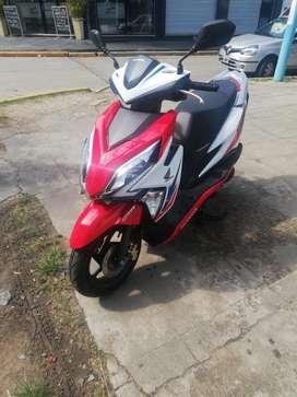 Honda new elite tricolor