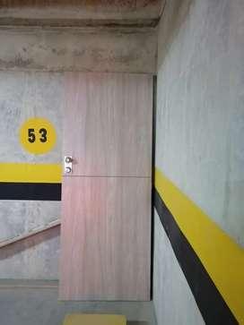 Puerta principal Tambor piso techo Nueva con chapa de seguridad