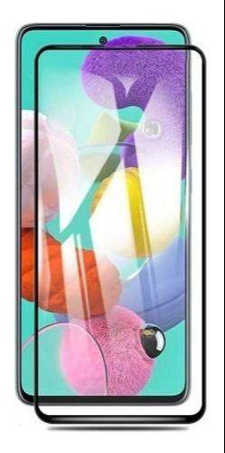 Vidrio Templado 5d 6d 9D Curvo Samsung a51 Glass Full Cover Glue