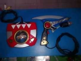 Consola Power Ranger Retro
