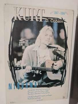 Cuadro Kurt Cobain 1995