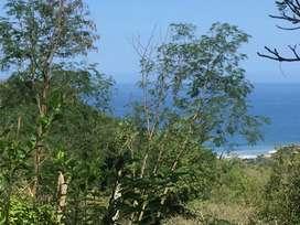 Hermoso lote de venta con escrituras: vista al mar a 10 minutos de la playa de Olon