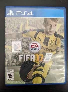Vendo FIFA 17 para PS4 usado