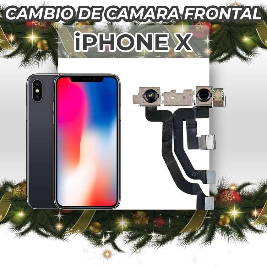 ¡Cambio de Cámara Frontal de Iphone X!