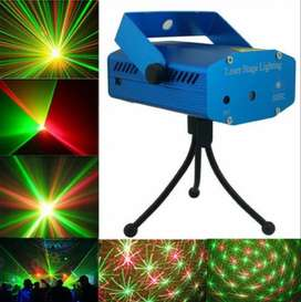 Láser Lluvia Multipunto Rojo Verde Audioritmico Efecto Dj
