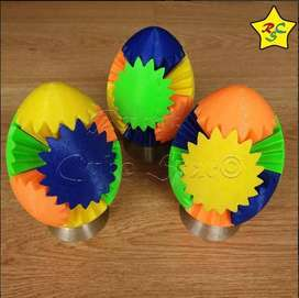 Huevo 3d Engranajes Egg Gear Cubo Rubik Giratorio Plastico