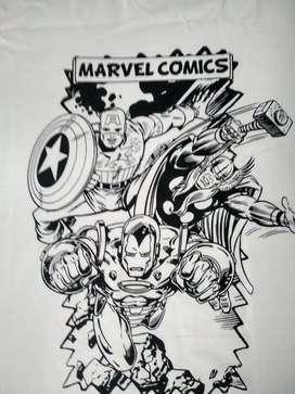 Remera Marvel Importada oferta solo por hoy y mañana