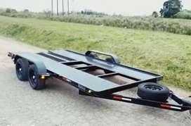 Vendo trailer nuevo reforzado balancín