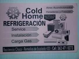Cold Home Refrigeración