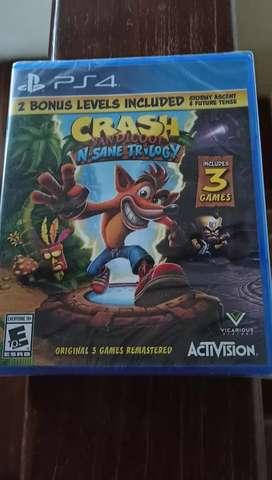 Crash Bandicoot SELLADO