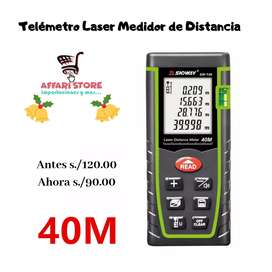 Telémetro laser Medidor de distancia