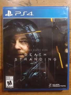 Death Stranding PS4 Físico Nuevo Sin Uso Venta/Canje