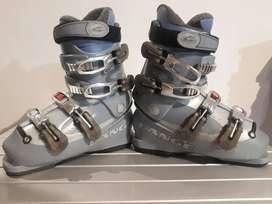Botas De Ski Italianas LANGE dama!! Talle 37