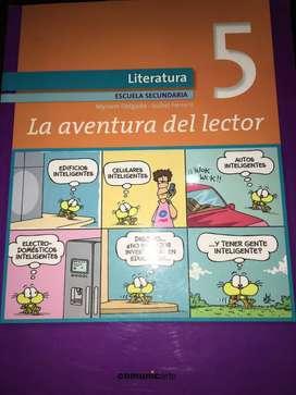 Libro Literatura 5 La aventura del lector