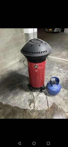 Asador a gas