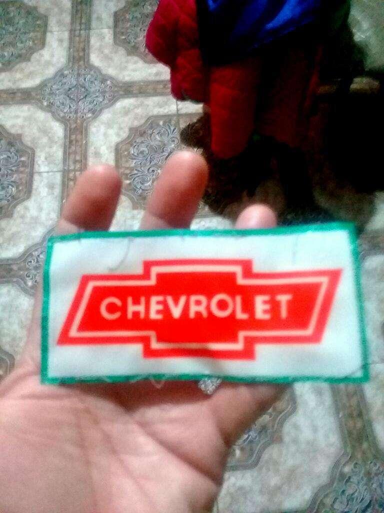 Parche Chevrolet para Ropa Gorra Etc 0
