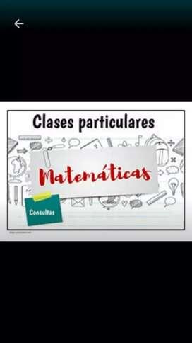 Clase de apoyo en matematicas
