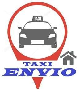 remiseria , taxi o viajes de transporte