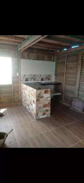 Vendo casa prefabricada en madera