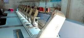Vendo  BORDADORA TANG 8 cabezales 12 agujas