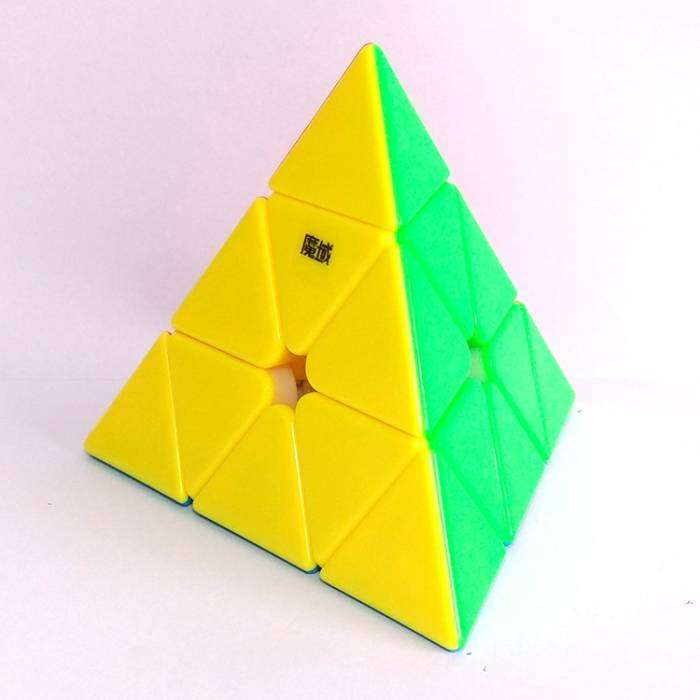 CUBO PYRAMINX MOYU YJ STICKERLESS 0