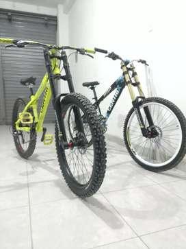 Bicicletas rígidas para downhill