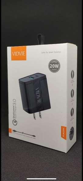 Cargador Vidvie PLM330C 20W Para Iphone