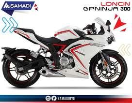 MOTO LONCIN GP300 NINJA CREDITO