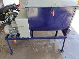 Mezcladora horizontal 200litros reforzada