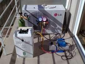 carga de gas para aire acondicionado 3000 frigorias