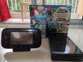 Consola Wii U en exelente estado incluye 2 juegos