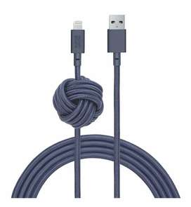 Cable para iPhone 3 metros reforzado nylon/kevlar