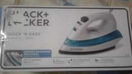 Hermosa plancha black+decker