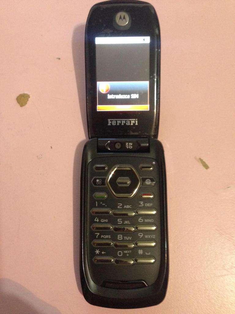 celular nextel i897 EDICION ferrari pirata solo coleccionistas 0