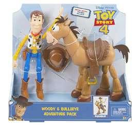 Toy Story - Woody y Tiro al Blanco