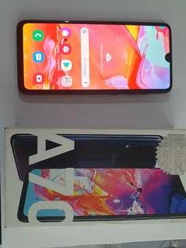 Samsung A70 como nuevo duos en caja
