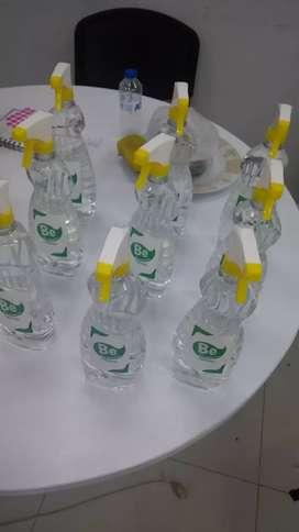 Ventas de bioessentail el producto de limpieza sin usar agua