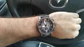 Hermoso reloj fosil 3 cabezas
