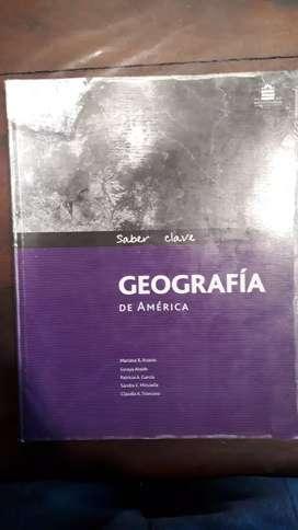 Geografía de América  santillana