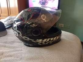 Vendo casco de moto HRO en buen estado