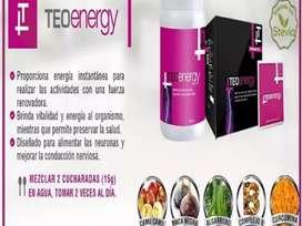 TEO ENERGY teoma (frasco y en caja x30 uni )