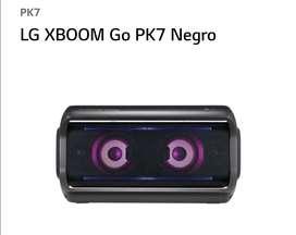 Parlante portátil bluetooth LG PK7