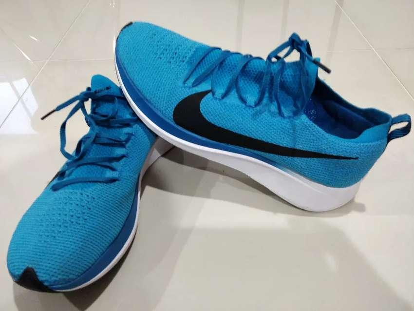 Tenis running Nike Zoom Fly 2 Flyknit Azul. Talla US 10.5 0